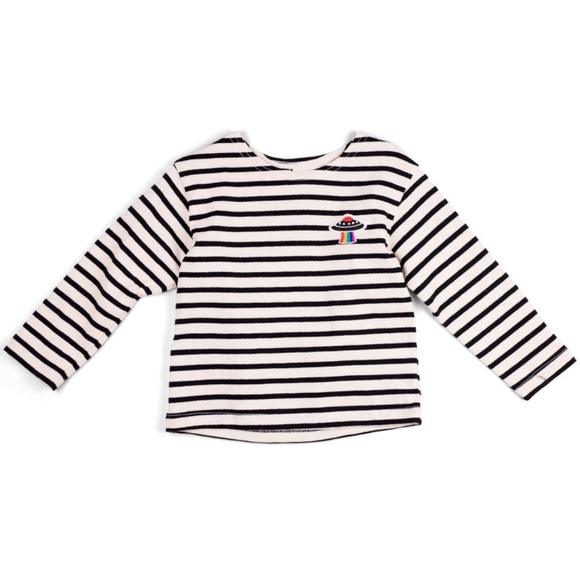 7f06bf6a01 Shirts & Tops | Unisex Kids Space Cadet Striped Long Sleeve Tee ...